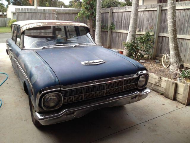 1964 Ford Falcon XM Deluxe Automatics - 2 x Wagon Barn Finds