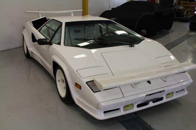 1988 Lamborghini Countach Lp5000 Qv For Sale Etobicoke Ontario