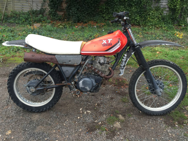 Yamaha XT 250cc 1980 Restoration Project Spares or repair Barn find