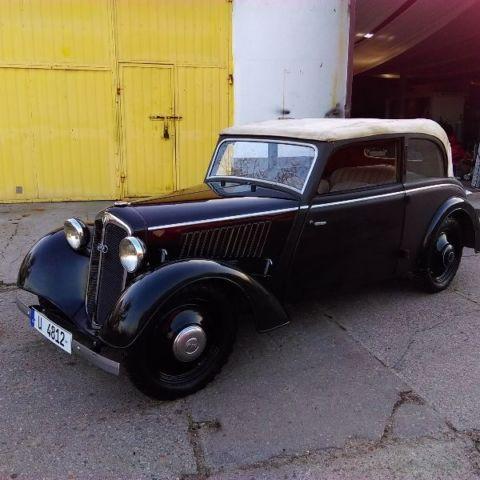 DKW F5-700, Audi, MEISTERKLASSE CABRIOLET, LHD, Year: 1936