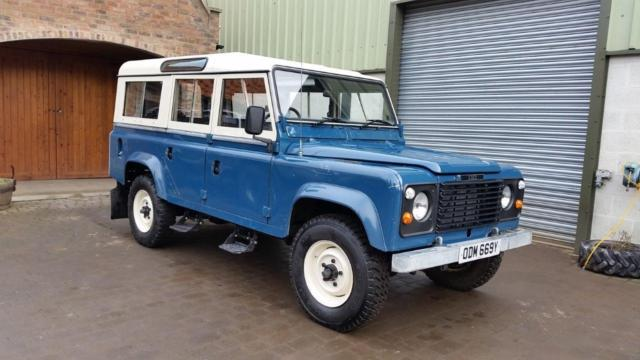 1983 Classic LAND ROVER 110 Station Wagon 2.25 Petrol Landrover county Defender