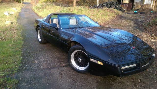1984 CHEVROLET CORVETTE C4 TARGA TOP 5.7 CROSSFIRE , 67,000 MILES DRIVES SUPERB