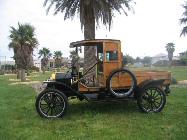 "MODEL T FORD  1914 !!   ORIGINAL   "" WOODY  PICK UP "" 100 YEAR  STILL RUNNING"