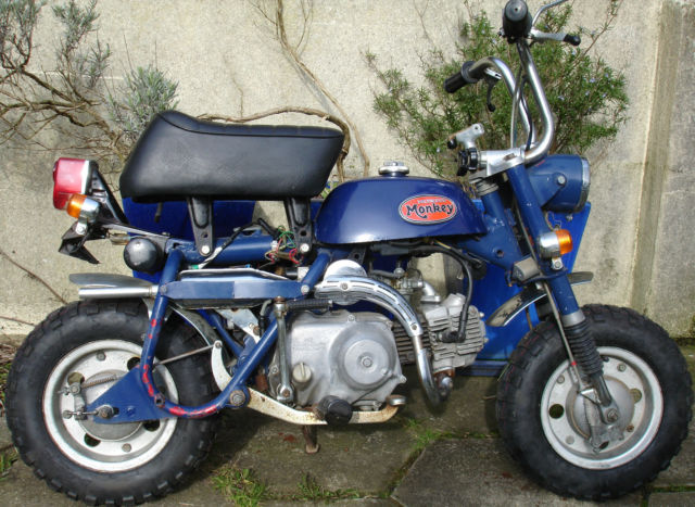 Honda Monkey Z50A 1973 Very Low Miles New Tyres UK Registered