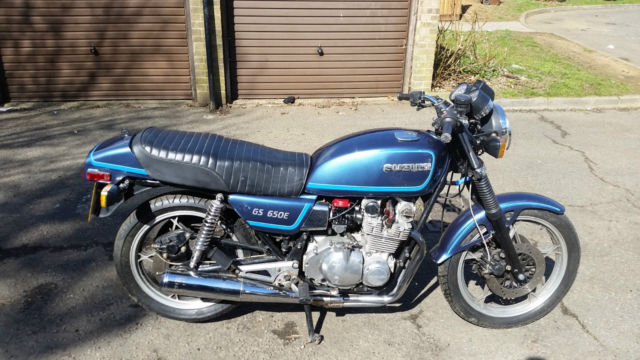 SUZUKI GS650E CHAIN DRIVEN , IDEAL CAFE RACER PROJECT