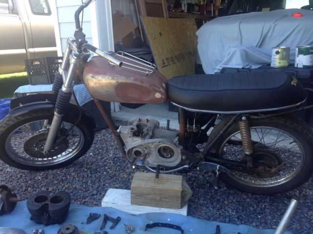 1967 Triumph tr6 650cc motorcycle project