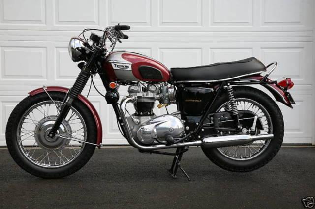 1970 Triumph Bonneville T120 For Sale Plainville Connecticut
