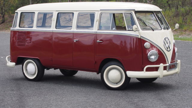 vw split screen  window microbus deluxe kombi volkswagen bus  sale kenmore qld