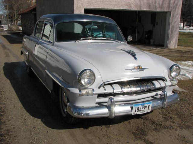 1953 Plmouth Cranbrook Classic car