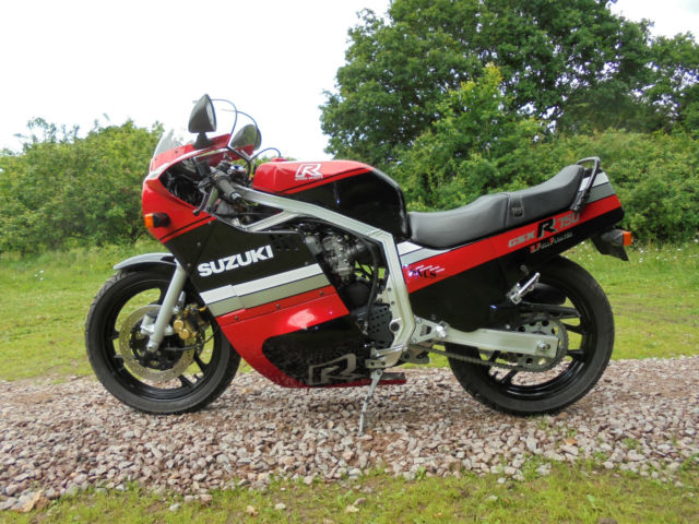 Suzuki GSXR750 1985