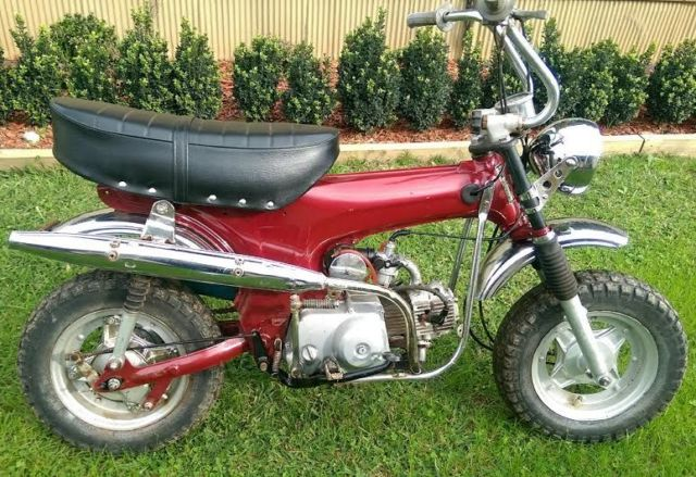 Honda CT70 Motorbike Dax 1980 collectable CT 70