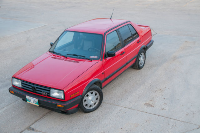 1988 Volkswagen Jetta GLI 16V - Stock Original Paint VW '88 Survivor