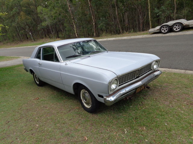 1968 FORD FALCON 2 DOOR COUPE 6 CYLINDER C4 CLEAN RUST FREE CAR XW XY FALCON GT