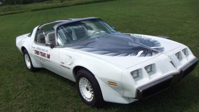 1980 Pontiac Trans Am Indianapolis 500 Pace Car