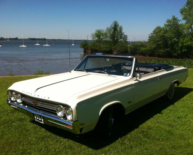 1964 Oldsmobile Cutlass F85 Convertible Rebuilt Engine & Trans. All Restored!