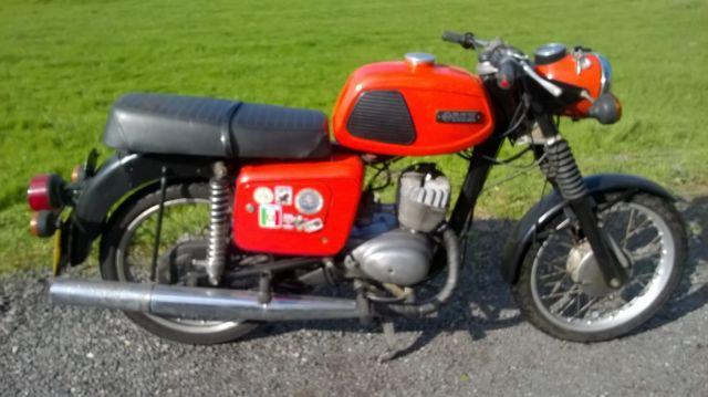 MZ TS125,1986 ,MOT,2 STROKE