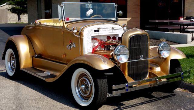 Street Rod Hot Rod Old Skool 1931 Ford Roadster