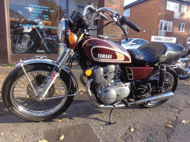 1975 Yamaha TX500 XS500 twin original us import easy project cafe racer £1499
