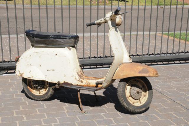 Gilera G80 vintage scooter