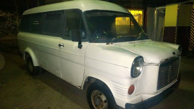 ford transit mk1van/minibus recently imported from Malta.