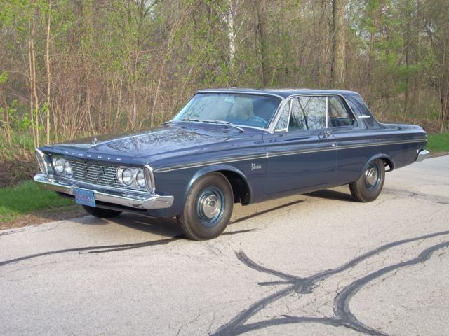 1963 426 Max Wedge Super Stock Plymouth Belvedere