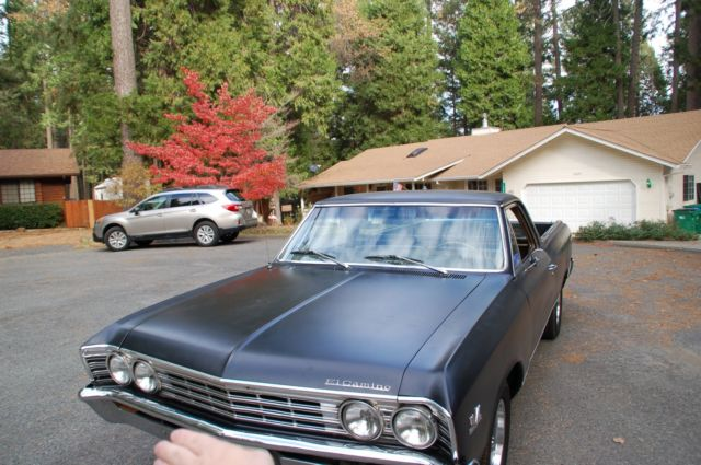 1967 El Camino Matching Numbers 396ci 350HP