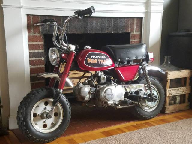Honda Mini trail 50 gorgeous 50 oem lil gem RARE first year of FULL Suspension!!
