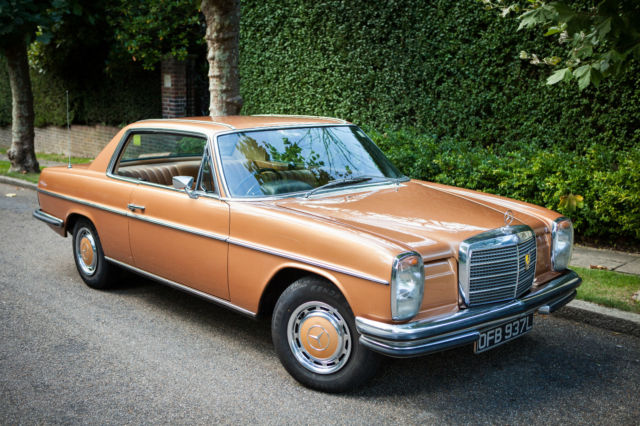 mercedes benz 280ce w114 coupe 1972 for sale london. Black Bedroom Furniture Sets. Home Design Ideas