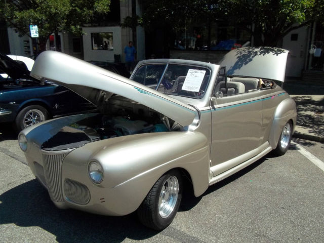 ****1941 FORD SUPER DELUXE CONVERTIBLE****