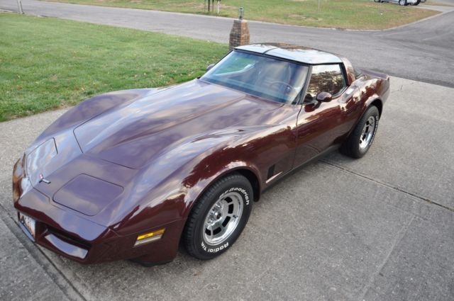 1981 CHEVROLET CORVETTE, 2 OWNER, RARE 4 SPEED, CALIF CAR, 57K MILES