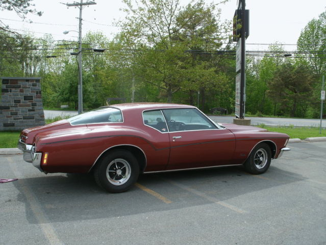 1972 Red Loaded 454cid Boat Tail Fast Great Driver California Car