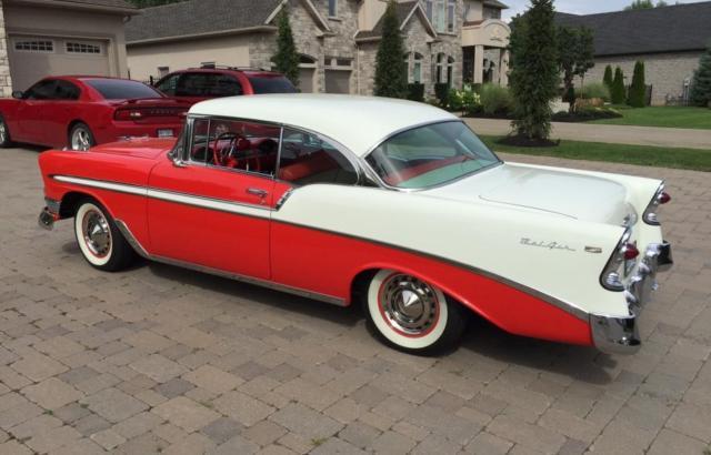 1956 Chevrolet Bel Air Sports Coupe 2 Door Hardtop