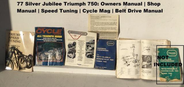 Triumph Silver Jubilee Bonneville 750 | 1977 vintage classic for Restoration