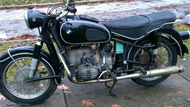 1968 BMW R60 R 60 ORIGINAL MOTORCYCLE R50 R69 VINTAGE BMW MATCHING NUMBERS