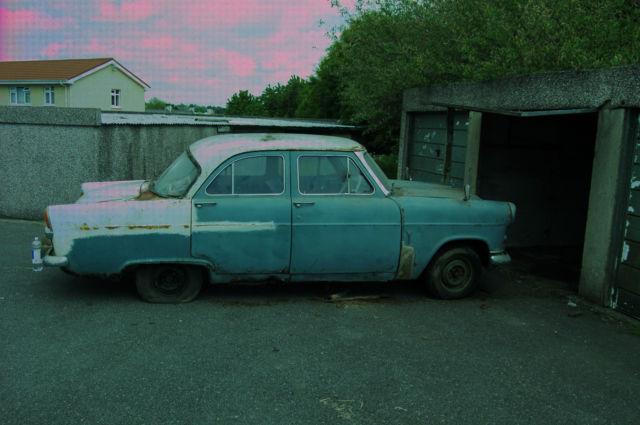 Classic 1960 Mk2 Ford Consul Restoration Project