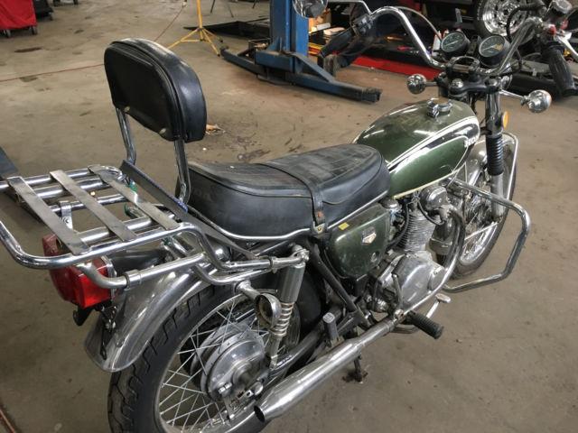 73 Honda CB350