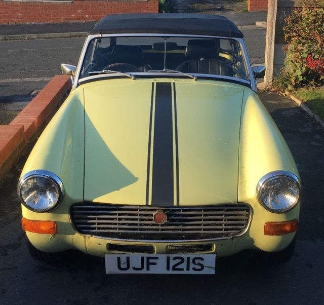 1977 MG Midget (Excellent driver condition)