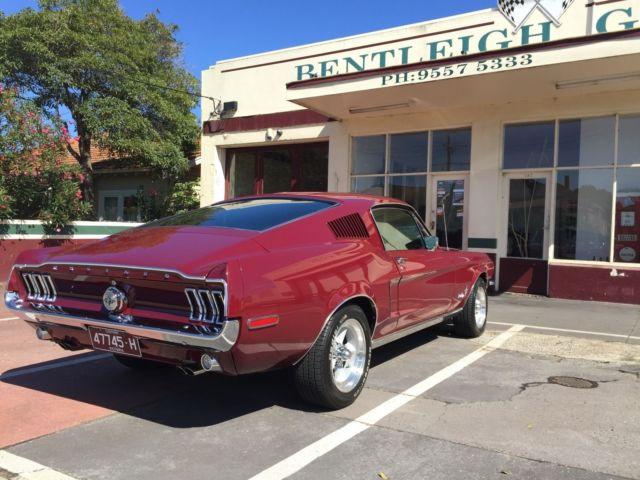 1968 Ford Mustang S-Code 390 big block fastback