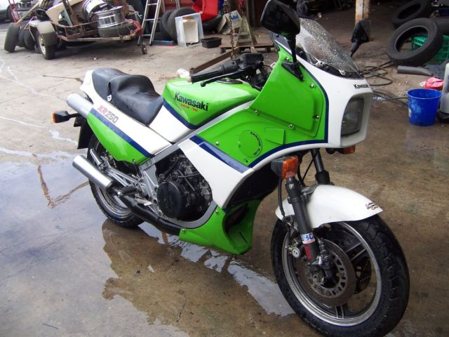KAWASAKI KR250 TANDEM TWIN 1985 GOOD ORIGINAL
