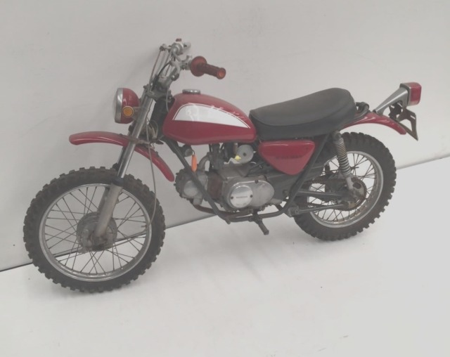 HONDA SL70 1971 RED