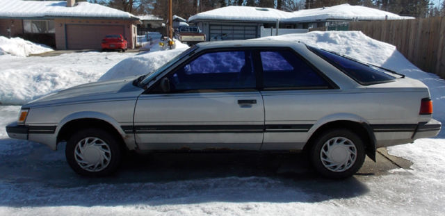 1988 SUBARU GL Hatchback
