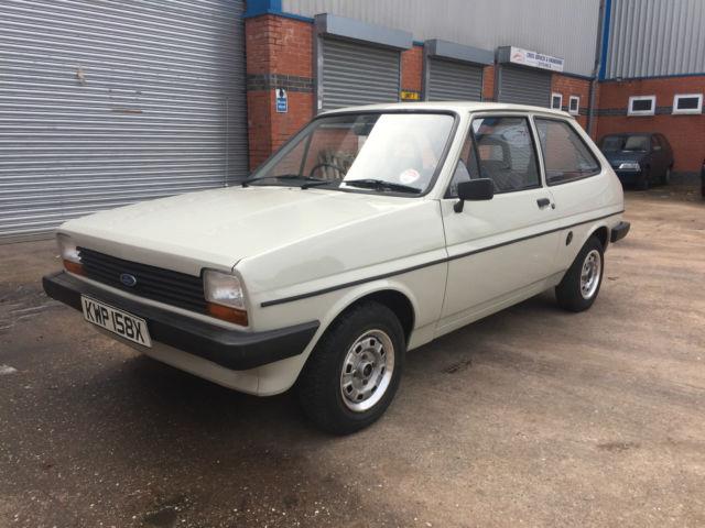 1982 Ford Fiesta MK1 *IMMACULATE* GENUINE 17,000 MILES*
