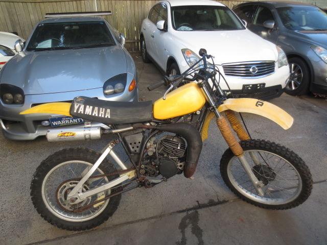 1980 YAMAHA YZ 125 G