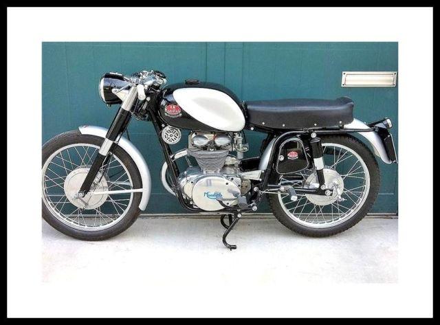 1956 FB Mondial 200 Sport Cafe Racer Vintage Italian Motorcylce