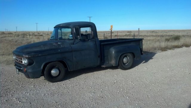 1959 Dodge D100, Rat Rod, Shop Truck