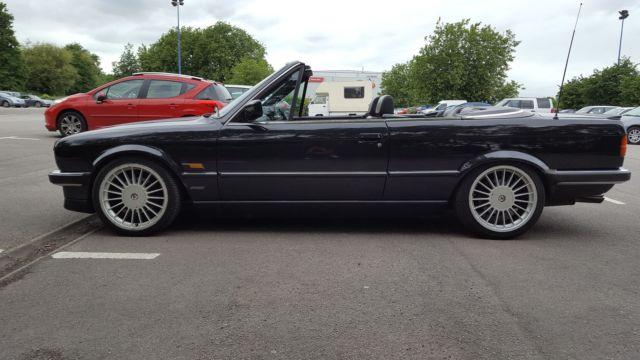 1989 BMW E30 325i CONVERTIBLE AUTO BLACK COSMOS