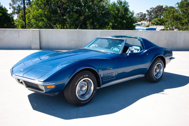 1970 Chevrolet Corvette Stingray Coupe *NO RESERVE* 4speed T-Tops