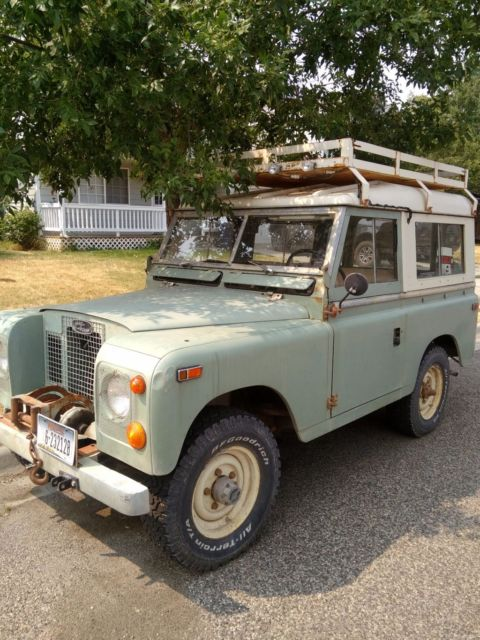 Land Rover, 1971 Series II