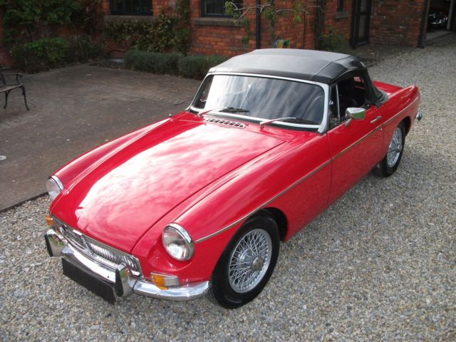MGB Roadster, 1967, Wire Wheels, Chrome Bumpers, O/D, Tax Exempt, Ivor Searle