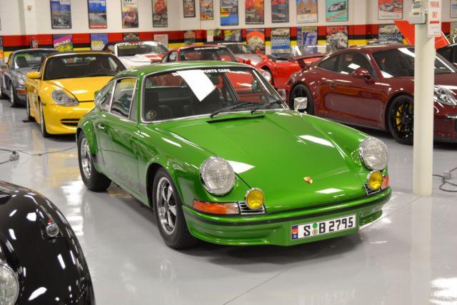 1973 Porsche 911 Carrera RS Doppelganger 1977 Miles Green Metallic Coupe 2.7 Lit